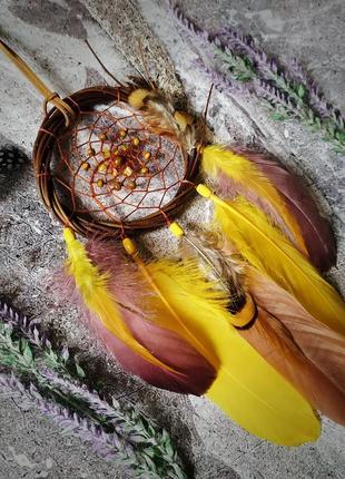 Ловец снов из ивы. оригинальный подарок, декор
