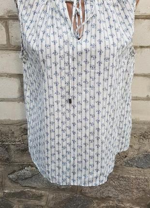 Красивая свободная летняя блуза next1 фото