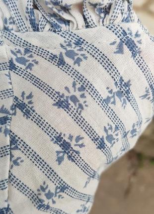 Красивая свободная летняя блуза next5 фото