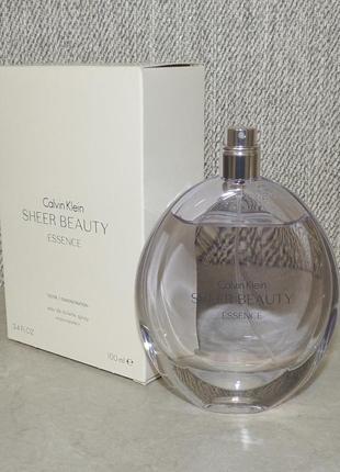 Calvin klein sheer beauty essence 100 мл тестер для женщин оригинал