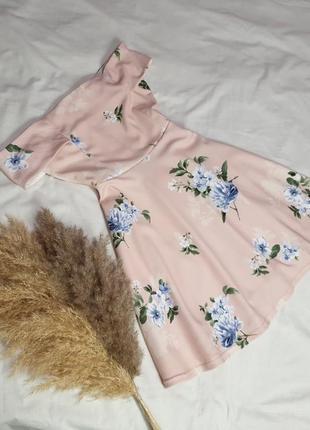 Пудровое платье от 𝑵𝒆𝒘 𝑳𝒐𝒐𝒌 размер:10/38/6 165/88а