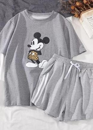 Костюм микки 💣 шорты + футболка 🔥новинка🔥