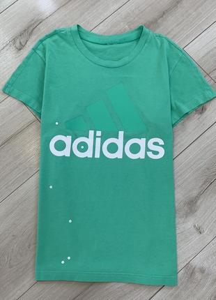 Хлопковая футболка adidas оригинал