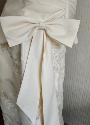 Платья на выпускной свадьба вечерние длинное фатин шелк корсет 💝2 фото