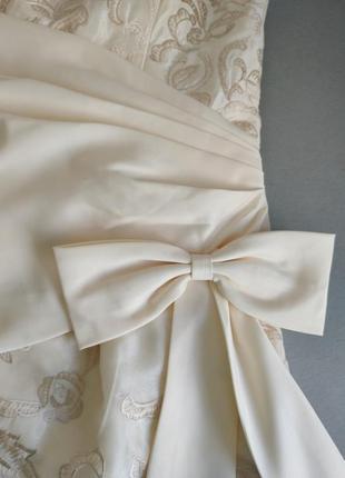 Платья на выпускной свадьба вечерние длинное фатин шелк корсет 💝7 фото