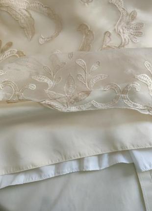Платья на выпускной свадьба вечерние длинное фатин шелк корсет 💝8 фото