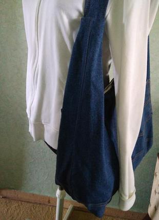 Сумка джинсовая4 фото