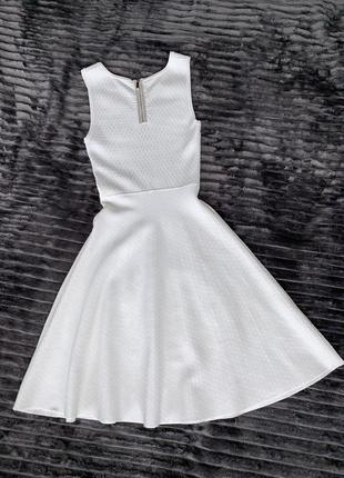 Бандажное платье karen miller с юбкою трапецией