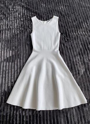 Бандажное платье karen millen с юбкою трапецией2 фото