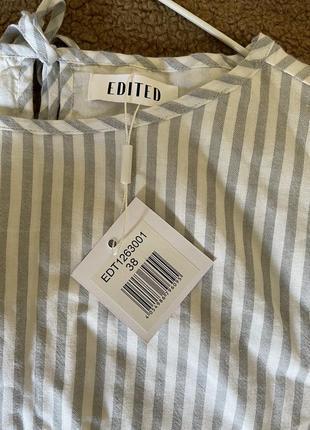 Укорочённая блуза с рукавами клёш edited4 фото