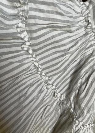 Укорочённая блуза с рукавами клёш edited5 фото