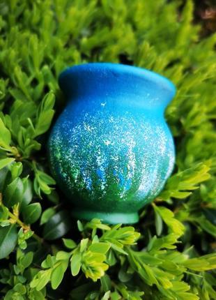 Миленькая вещица-маленькая вазочка. керамика, ручная работа.2 фото