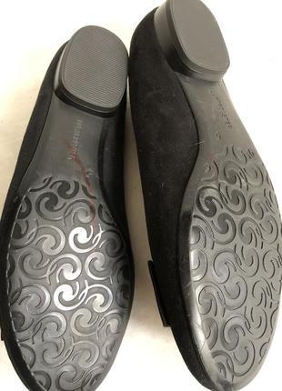 Замшевые туфли балетки7 фото