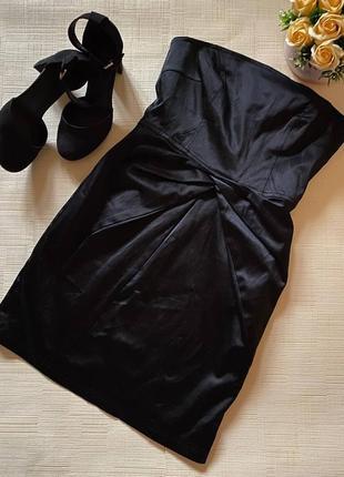 Коктейльное платье-бандо от gestuz6 фото