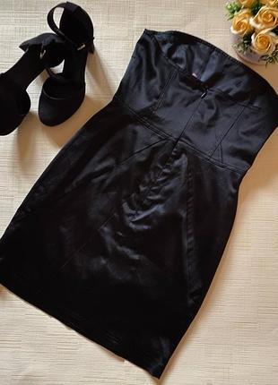 Коктейльное платье-бандо от gestuz7 фото