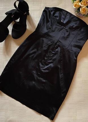 Коктейльное платье-бандо от gestuz2 фото