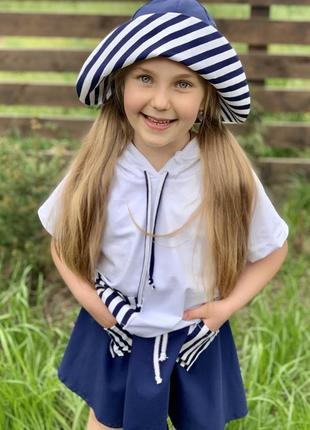 Костюм морячка для девочки2 фото