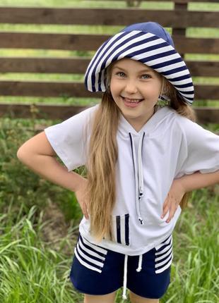 Костюм морячка для девочки5 фото