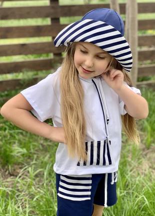 Костюм морячка для девочки