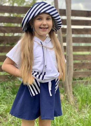Костюм морячка для девочки6 фото