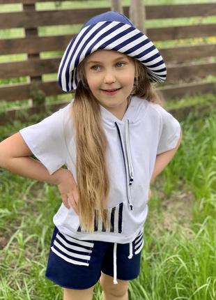 Костюм морячка для девочки4 фото