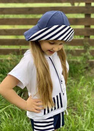 Костюм морячка для девочки7 фото