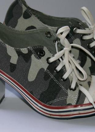 397119405d0e Кеды на каблуках, женские 2019 - купить недорого вещи в интернет ...