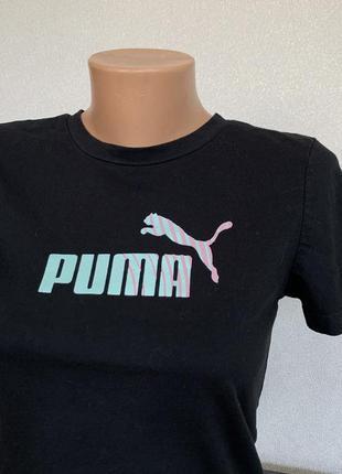 Чёрная футболка puma оригинал2 фото