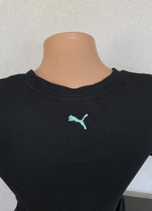 Чёрная футболка puma оригинал3 фото