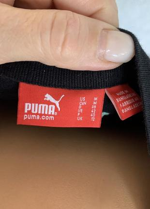 Чёрная футболка puma оригинал4 фото