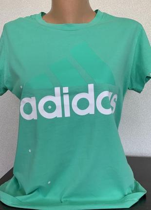Футболка adidas хлопок оригинал1 фото