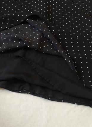 Платье миди в горох 20 размер сукня міді в горох2 фото