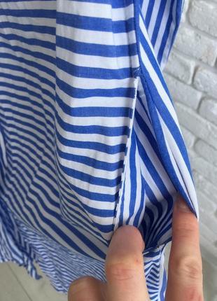 Платье -рубашка 100% cotton4 фото