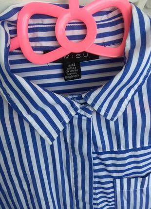 Платье -рубашка 100% cotton3 фото