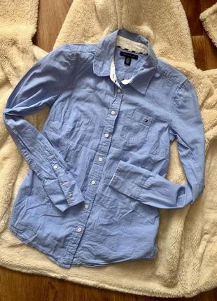 Рубашка/блуза на пуговицах tommy hilfiger оригинал