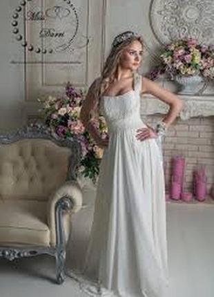 💃свадебное платье греческого стиля