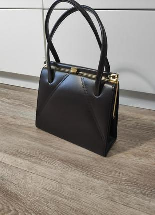 Vintage retro maclaren 1950-60s kelly style handbag sweetheart clasp  сумка ретро