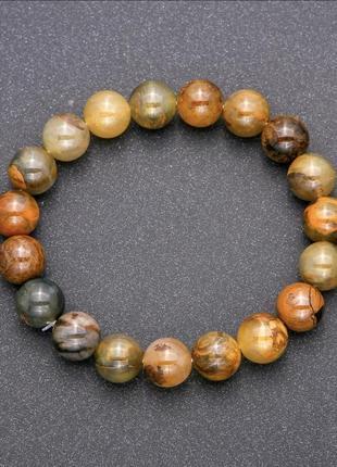 Браслет из натурального камня петерсит