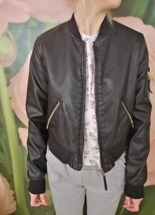 Куртка бомбер2 фото