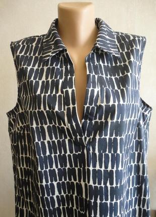 Удлиненная хлопковая блуза jarger.1 фото