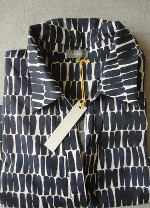 Удлиненная хлопковая блуза jarger.4 фото