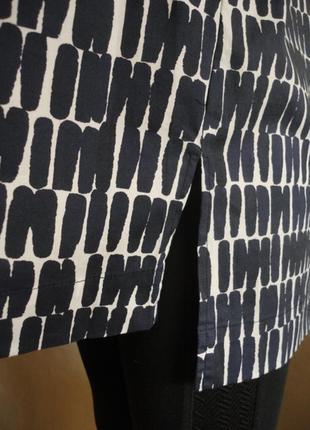 Удлиненная хлопковая блуза jarger.5 фото