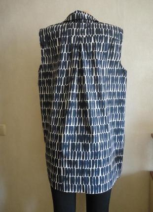 Удлиненная хлопковая блуза jarger.3 фото