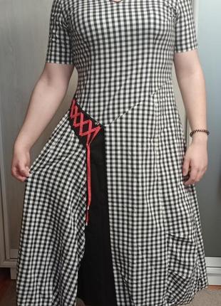 Хлопковое, натурально, удобное платье