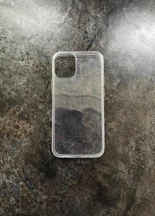 Уценка! прозрачный чехол tpu для apple iphone 12/mini/pro/max термополиуретан чохол айфон
