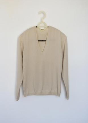 Loro piana базовый кашемировый пуловер свитер оригинал