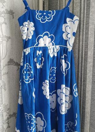 Платье на бретельках / сарафан бренда yumi3 фото