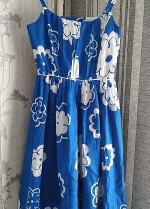 Платье на бретельках / сарафан бренда yumi2 фото