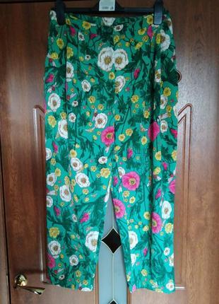 Укороченные свободные штаны бананы monki