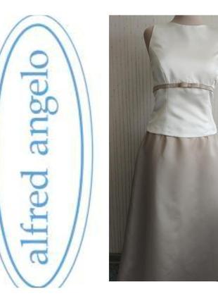 Платье длинное вечернее свадьба выпускной alfred angelo